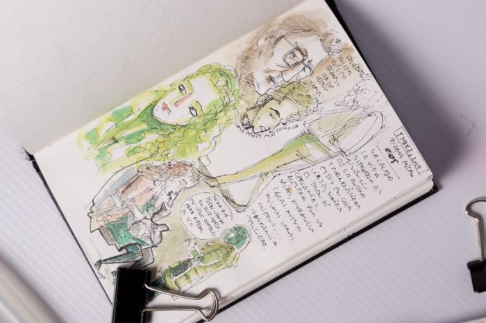 Cuaderno sketch