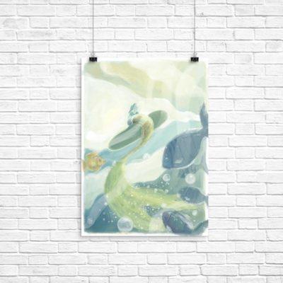celia sirena poster