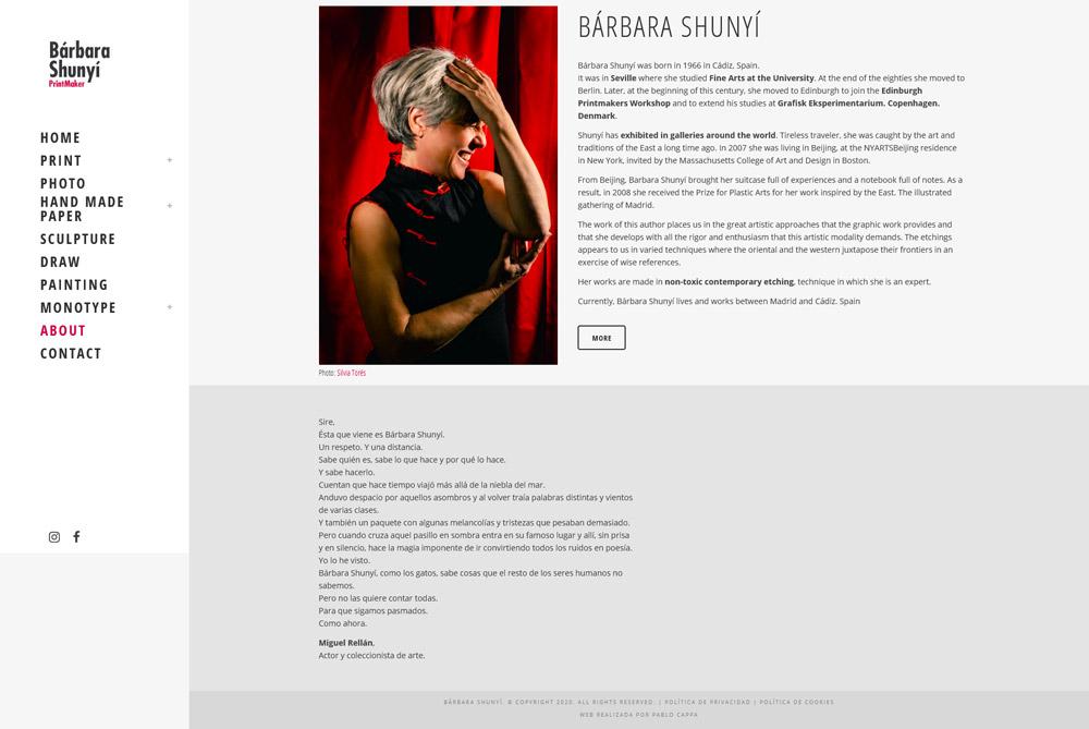 Portfolio de Barbara Shunyi
